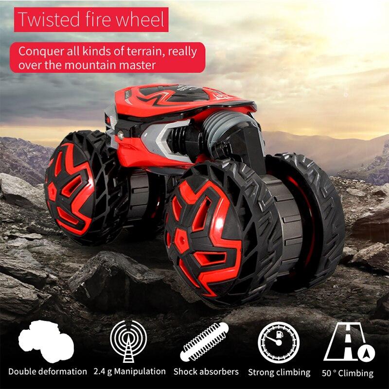 Große RC Autos 4WD Racing Drift Fernbedienung Twist Rad Lkw Crawler Verformung Stunt Auto Modell Elektronische Spielzeug Für Kinder-in RC-Autos aus Spielzeug und Hobbys bei  Gruppe 3
