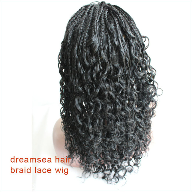 150 % density thick full ends loose curly lace wig for ...