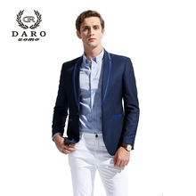 DAROuomo 2016 Men's Blazer Suit Slim Casual Jacket Pants Wedding Party Suit Custom Tailor DR8611