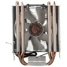 Новый 4 Heatpipe Процессор Cooler теплоотвод для Intel LGA 1150 1151 1155 775 1156 (для AMD)
