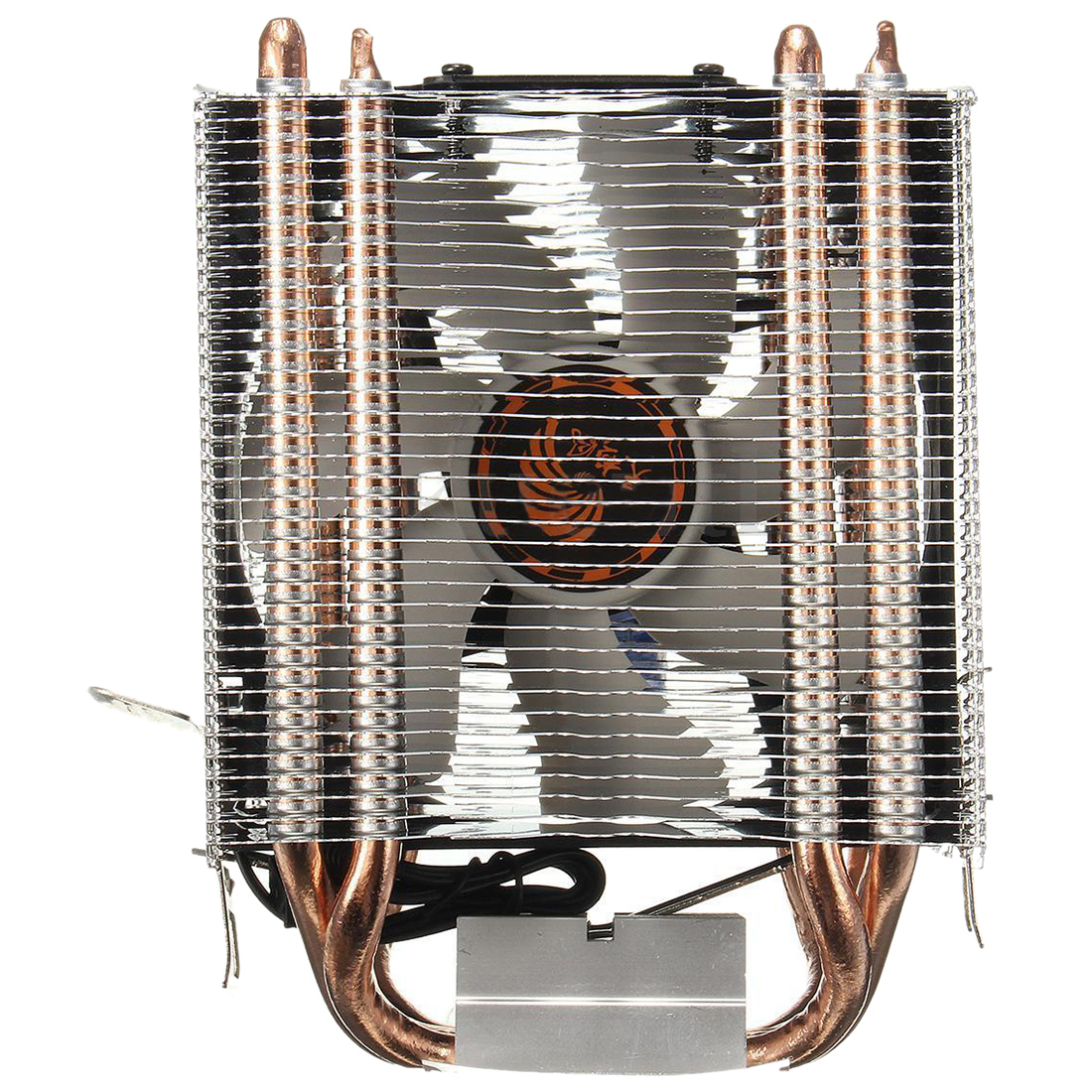 Nueva 4 Heatpipe CPU Cooler disipador de calor para Intel LGA 1150 1151 1155 775 1156 (para AMD)