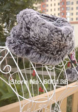 2015 winter knitted rex rabbit fur hat rex rabbit fur scarf fur leggings