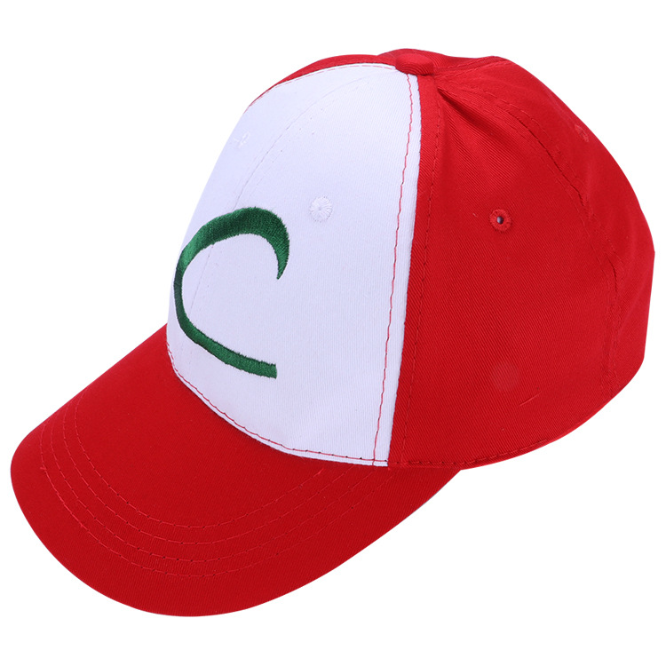 Hot Sale New Fashion Boys and Girls Summer Casual Pokemon Hat 4 Designs Cute Cosplay Cap 1 fashion handpainted palm sea sailing pattern hot summer jazz hat for boys