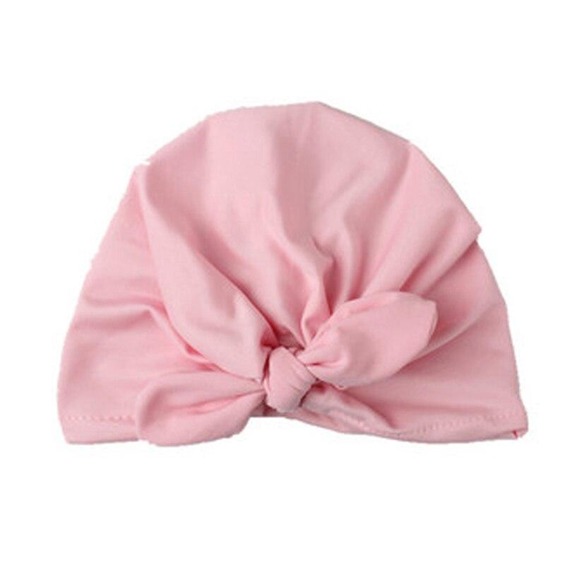 Newborn Baby Toddler Kids Boy Girl Bow Knot Soft Beanie Hat Cap Headwear Warm