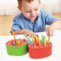 Магнитный деревянный блок для детей  развивающая игрушка для раннего развития