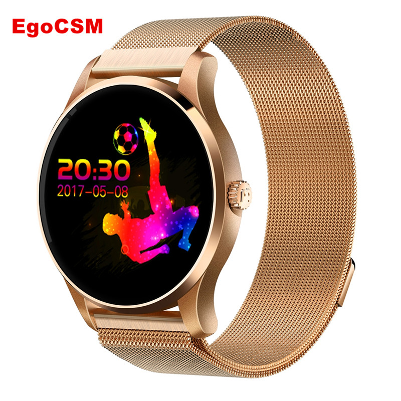 EgoCSM K88 Smart watch Bluetooth 4.0 IP65 Waterproof  Reminder Sleep Heart Rate Monitor Pedometer Anti-lost For IOS Android цена и фото