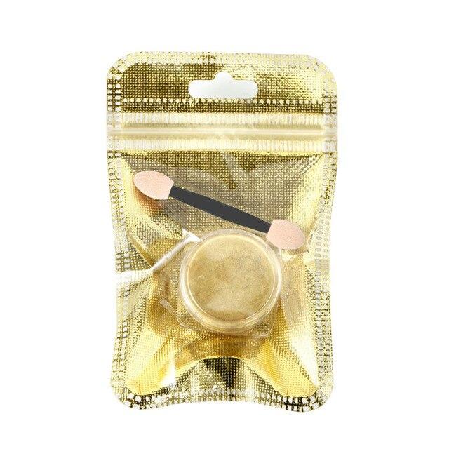 Rosalind 1 unids Brillos de uñas escamas de aluminio espejo mágico ...