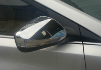 ABS Chrome Rearview mirror cover Trim/Rearview mirror Decoration For 2012 Hyundai Elantra