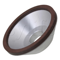 Мм 100 мм OD мм 5 Diamond ширина Чаша Форма шлифовальные круги шлифовальные станки 180 грит