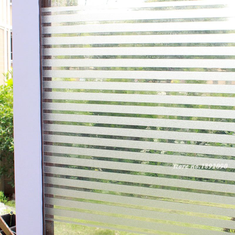 Fancy Fix Cut Gl Block Laser Static Cling Window Film Embossed Privacy
