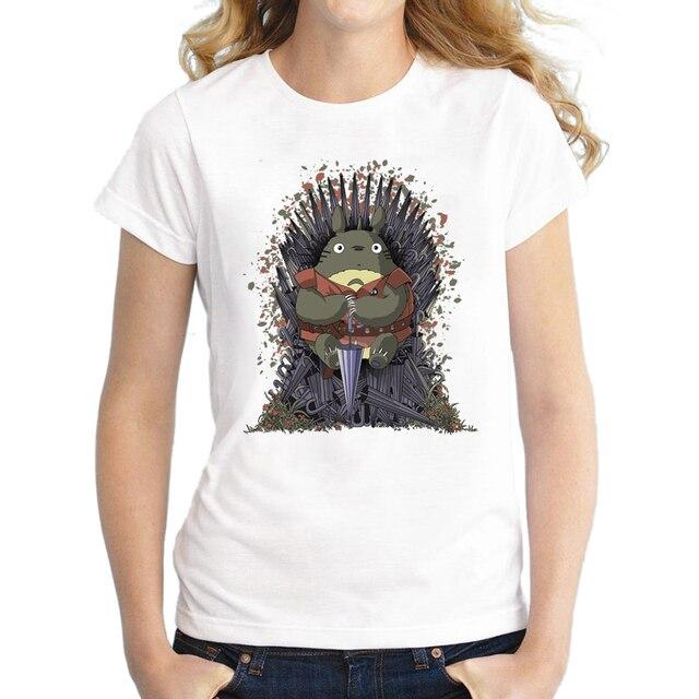 Newest Design Umbrella Totoro of Thrones Printed T Shirt ...