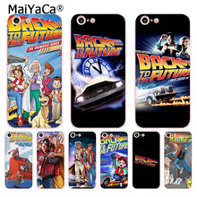 MaiYaCa Back To The Future boy Novelty Fundas Phone Case Cover for iPhone 8 7 6 6S Plus X 5 5S SE 5C case Cover(China)