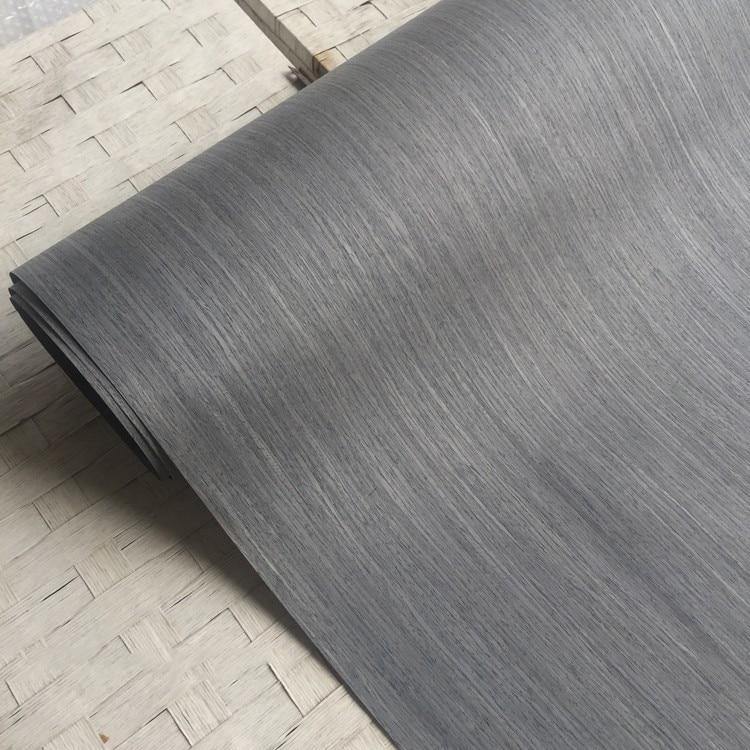 Technical Veneer Sliced Wood Engineering Veneer E.V. Silver Oak 60x250cm Backing With Tissue 0.2mm Thick Q/C