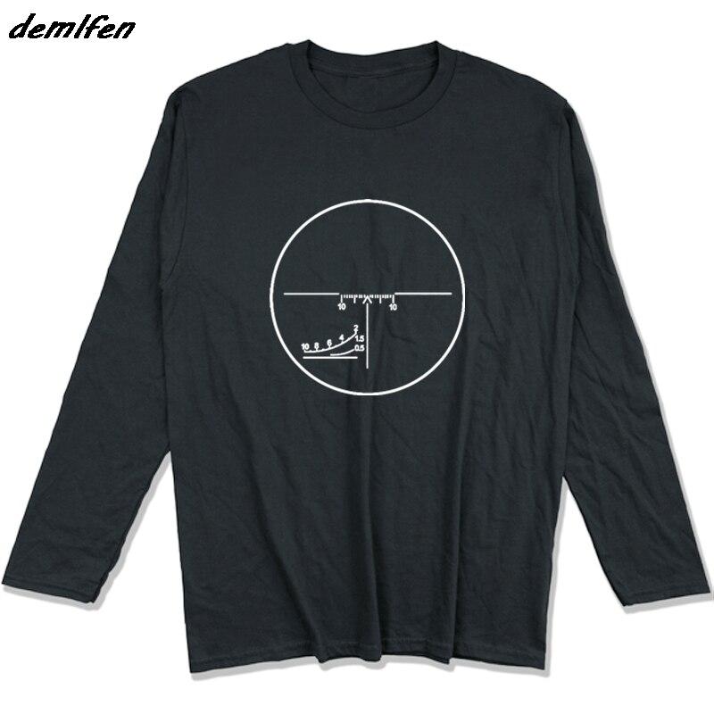 De Primavera De Otoño De Los Hombres Camiseta De Algodón Ruso Pso Dragonov Francotirador T Camisa Svd Psl Ak47 Akm Saiga T Shirt Cool Camisetas Tops Sentirse CóModo