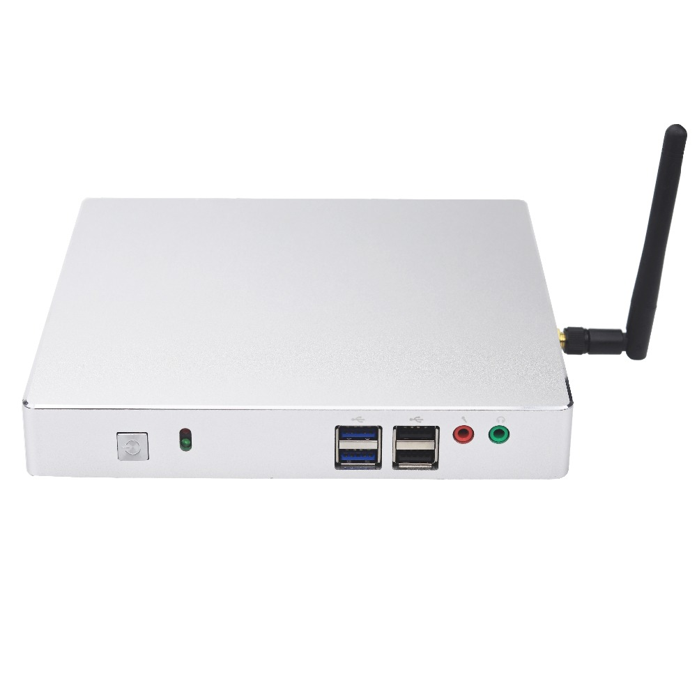 High Quality Mini Pc I5 Windows 10 WIFI HDMI Sata 2.5 1TB 1080P Video Rs232 RAM 4GB Barebone Computer