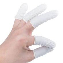 100 шт/пакет одноразовые латексные резиновые пальчиковые кроватки наборы подушечек для пальцев Защитные перчатки для часов и телефонов инструменты для ремонта татуировок