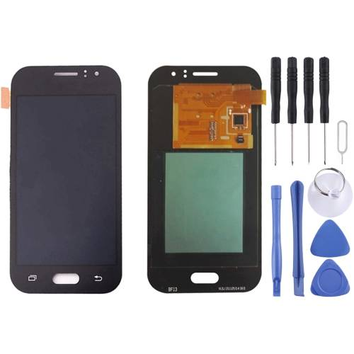 Color : Black Touch Panel for Galaxy J1 Ace // J110 LCD Screen Mobile Phone LCD Display Black