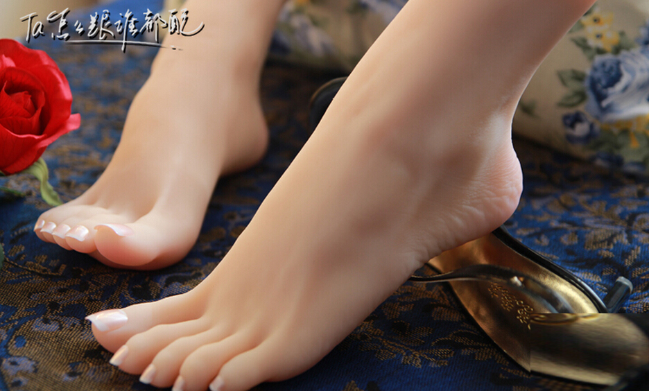 Top Quality Nice Fetish Feet,Fake Feet for Training,Foot Fetish Toys,Worship Foot Toys Mold,Lifelike Sex Doll,Sex Product top quality fake foot for displaying