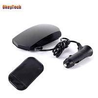 OkeyTech Car Anti Radar Detector For Vehicle V3 Speed Voice Alert Warning 16 Band LED Display