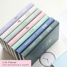 2018 Planner 365 Days Personal Notebook Diary Weekly Planner Note book Cactus Agenda Journal Notepad Organizer School Stationery