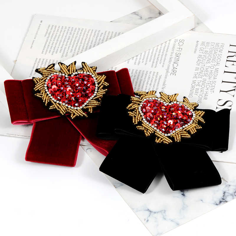 ... ZHINI Zinc Alloy Trendy Special Offer Broches For Women Clothing  Accessories Broche Brooches New Fashion Bow ... 75af1828a9a9