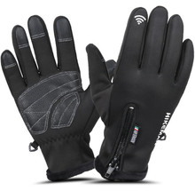 Motorcycle Gloves Winter Warm Waterproof Windproof Protective Gloves Touch Screen Guantes Luvas Warm Fleece Lined Gloves protective gloves camouflage fingerless gloves waterproof camera fishing touch screen