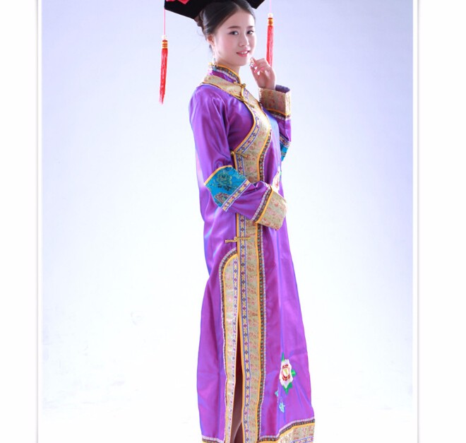 8bd656045c99 New Arrive Fashion Chinese Folk Dance The Qing Dynasty Costumes ...