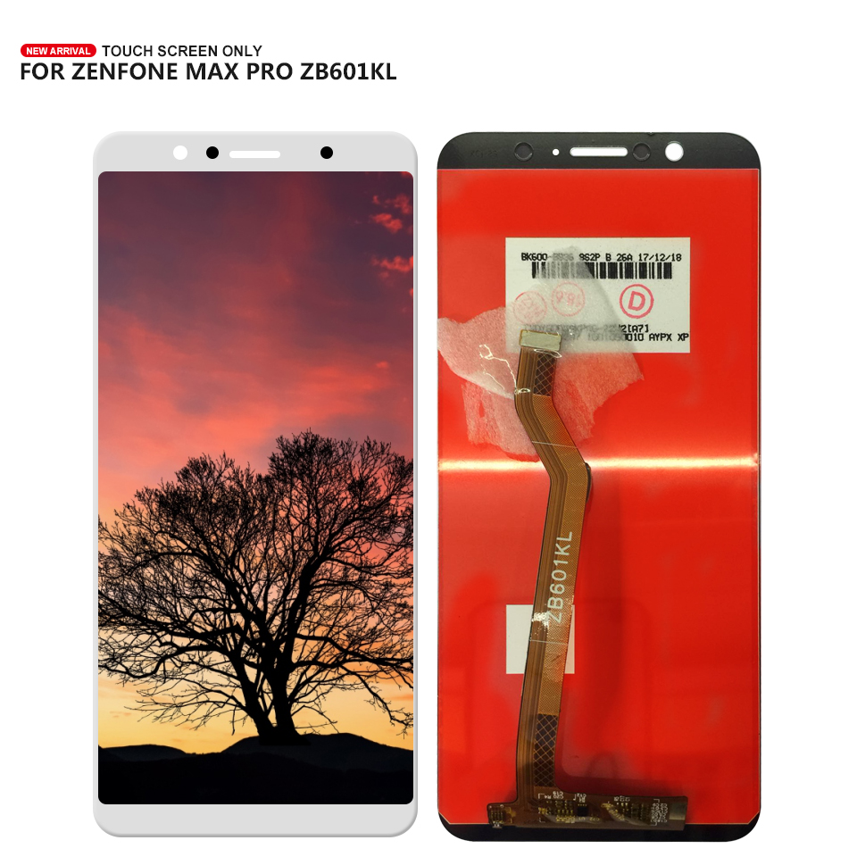 For ASUS ZenFone Max Pro M1 ZB601KL <font><b>ZB602KL</b></font> Touch Screen Digitizer Glass <font><b>LCD</b></font> Display Assembly + Tools image