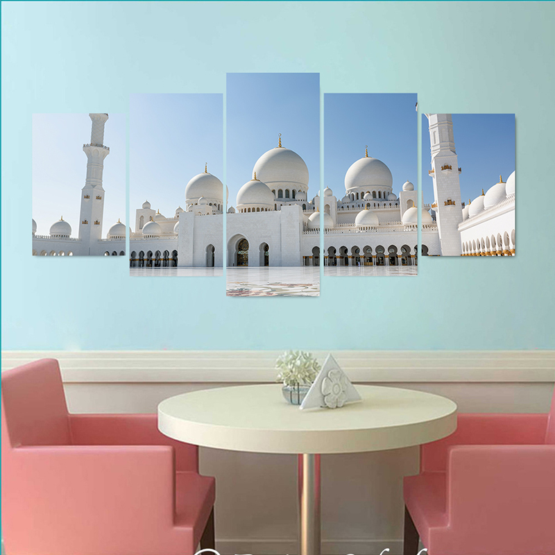 3D Mural Photo Wallpaper Castle City PVC Poster Wallpaper Wall Sticker Art Photography Background Wall  Dining Room Home Decor(China)