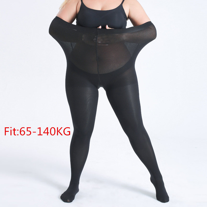 Spring Plus Size Women   Leggings   Super Big Sizes   Legging   Black Flesh-colored Ribs High Elastic Waist Pants 6XL Clothing Female