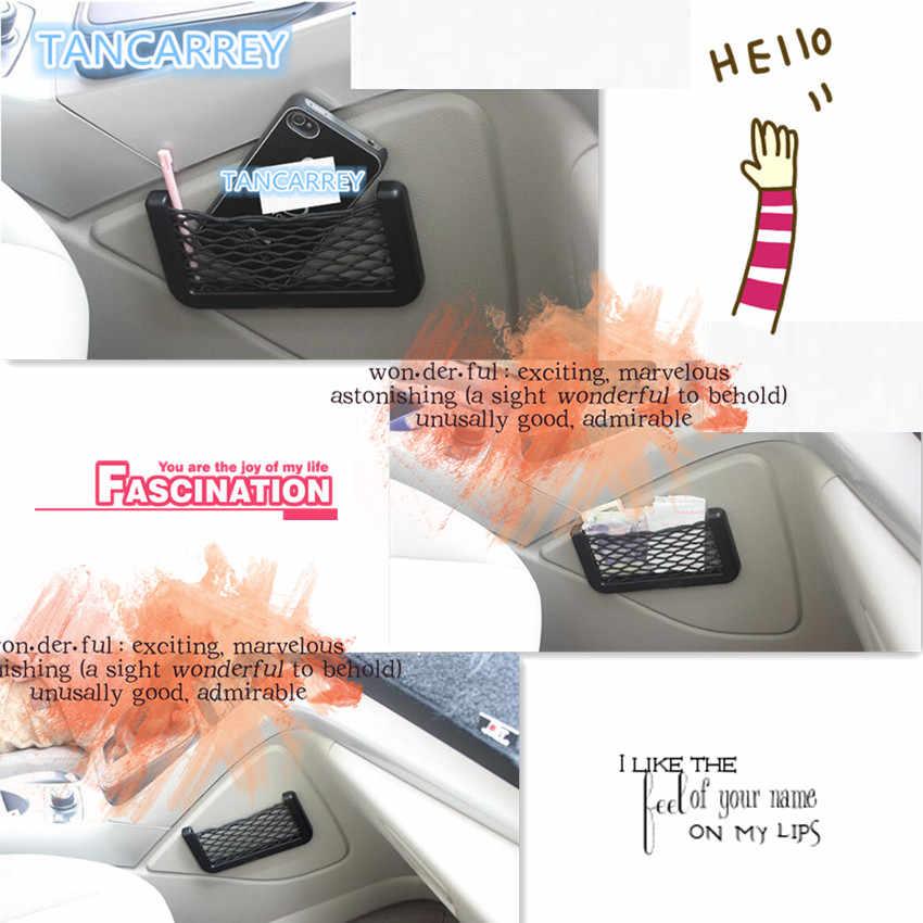 تخفيضات هائلة على حقيبة شبكة تخزين السيارة لـ VW Golf 5 6 7 Jetta MK5 MK6 MK7 CC Tiguan Passat B6 b7 Scirocco New Touareg R line Accessories