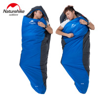 Naturehike Factory sell Ultralight Outdoor Sleeping Bag Camping hiking Sleeping Bags 1.1kg ML150