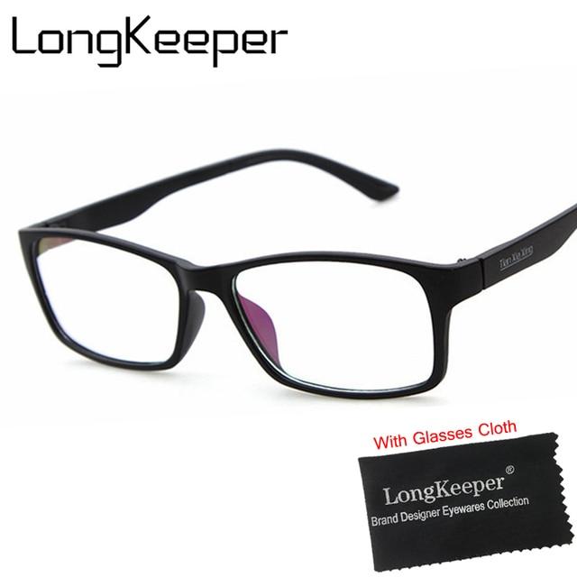 Aliexpress.com: Comprar LongKeeper Super Light Square Marcos Ópticos ...