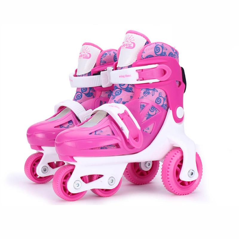 Kids Children Lovely Cute Stable Balance Slalom Parallel Ice Skate Roller UNBreak