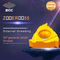 10 pçs/lote Z16ER Z22ER Z-ER-55 Z-ER-60 YBG205 YBG203 original ZCC pastilha de metal duro torno cnc ferramentas de carboneto de threading insere