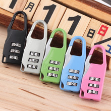 Combination Code Number Lock Padlock For Luggage Zipper Bag Backpack Handbag Suitcase Hot Search Black