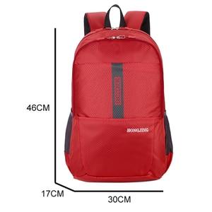 Image 4 - New Nylon Waterproof Lightweight Mens Backpack Casual Large Capacity Women Bag Travel Backpack Sport Bag