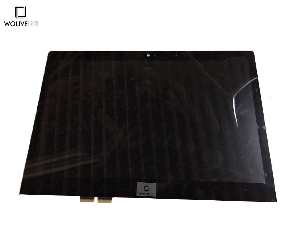 Original nouveau 14 ''écran LCD pour Lenovo Yoga3 14 LP140WF3-SPL2 1920*1080 LCD écran tactile numériseur assemblée avec cadre