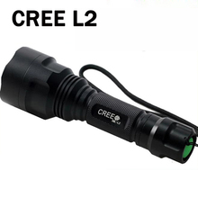 Led Flashlight 4000 Lumens Max CREE L2 T6 Q5 Flashlight Waterproof LED Torch lanterna Camping Hunting lampe de torche ZK93