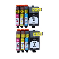 officejet pro 8PCS Ink Cartridge Compatible for HP934XL hp934  934XL 935 935XL for Officejet pro 6230 6830 6835 6812 6815 6820 printer (2)