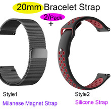 20mm Bracelet Band For Xiaomi Huami Amazfit Bip Watchband GTR 42mm Watch Strap GTS Wristband Watchstrap Bands