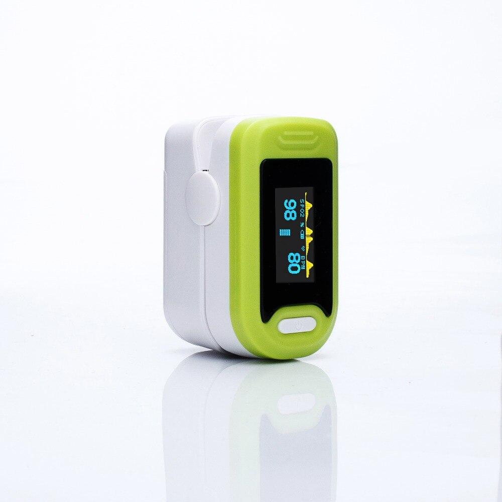 Loodom Vinger Pulsoxymeter Zuurstof Monitor Oled Pulsoximeter Vingertop Saturatiemeter De Dedo De Pulso Vinger Oximeter Пульсоксимет - 5