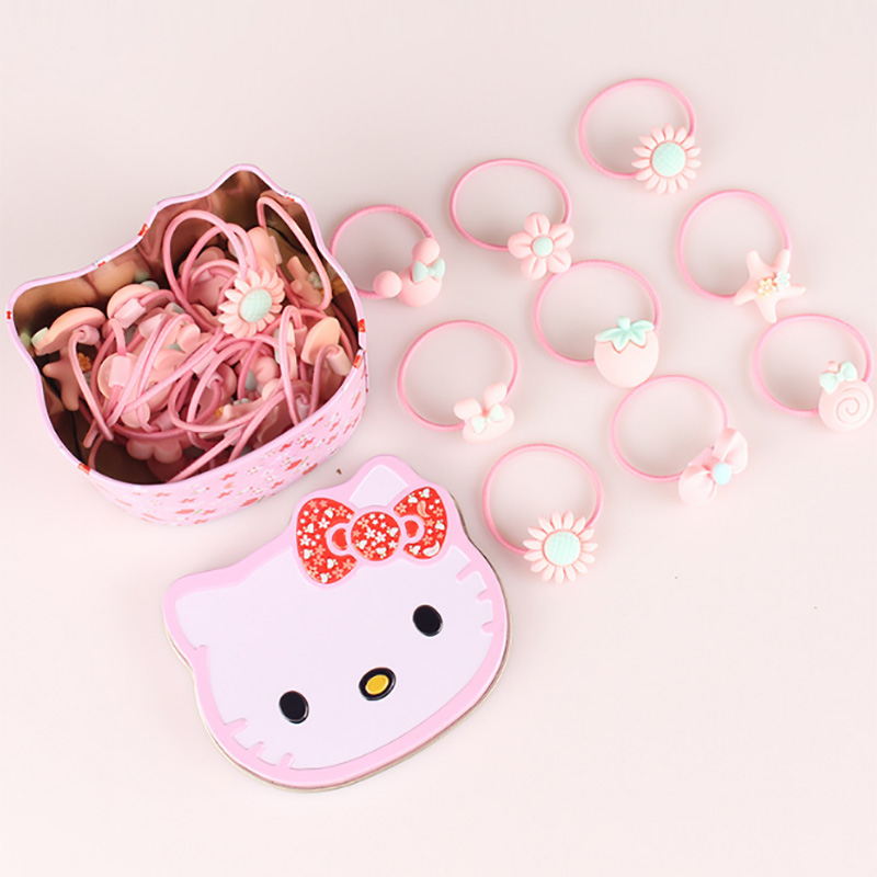 WHTLY Nowe słodkie dziecięce gumowe akcesoria do włosów Baby Sun - Odzież dla niemowląt - Zdjęcie 3