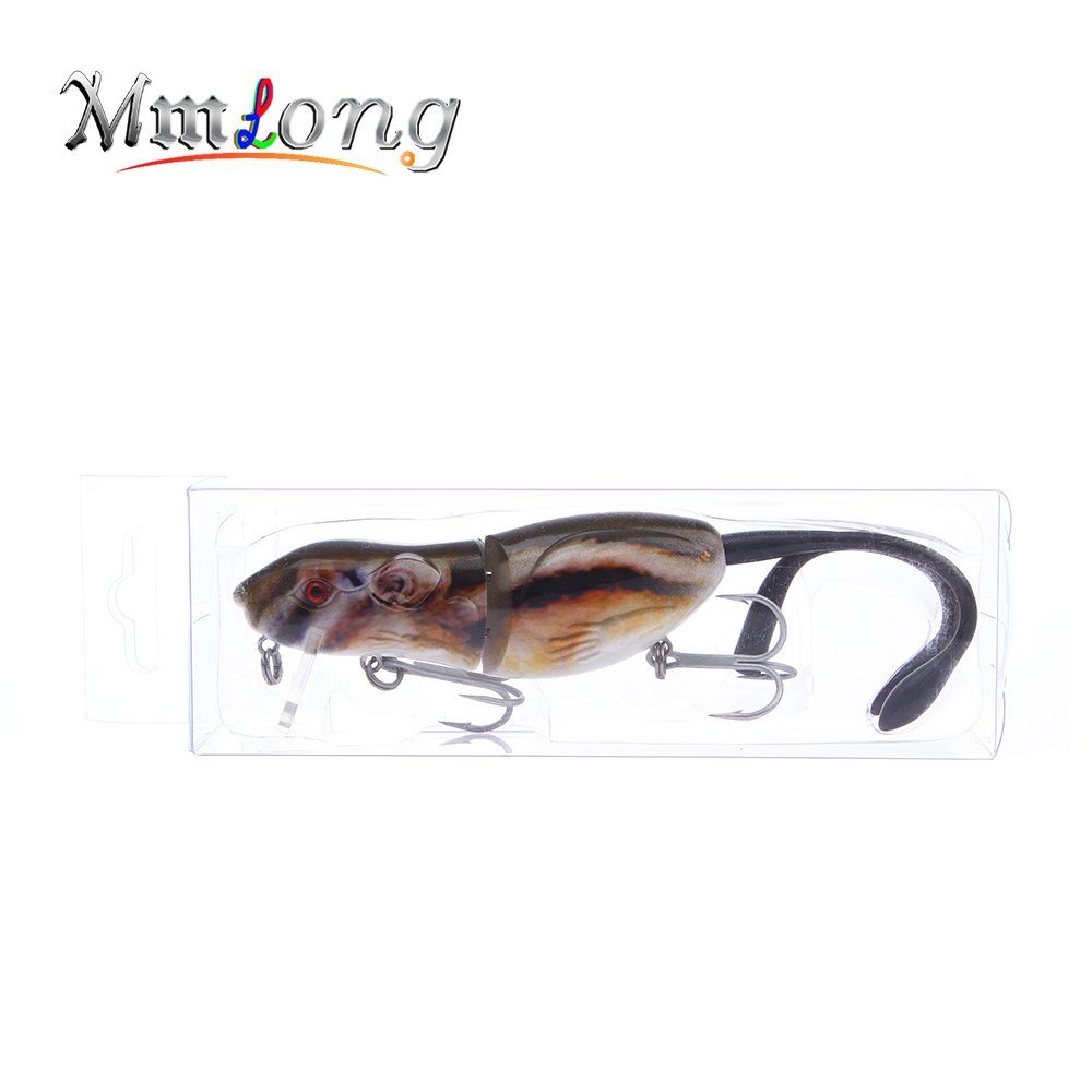 Mmlong 9cm Jointed Fishing Rat Artificial Baits Rat2 M 22 1g Hot Sale Swimbait Floating Mouse Fishing Lures Wobbler Crankbaits in Fishing Lures from Sports Entertainment