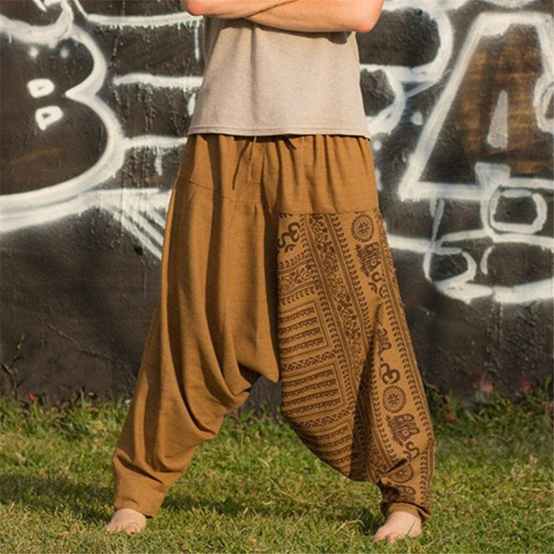 Helisopus Harem-Pants Trousers Pantalon Joggers Hiphop Crotch Baggy Plus-Size Summer