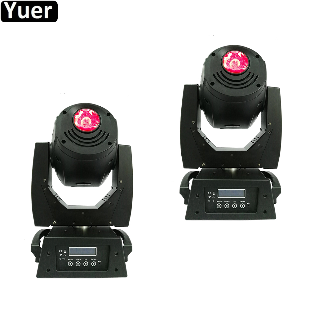 2Pcs/LotProfessional Music Stage Light High Bright 180W LED Spot Moving Head Light LED Shutter With Variable Spped DiscoDJ Light