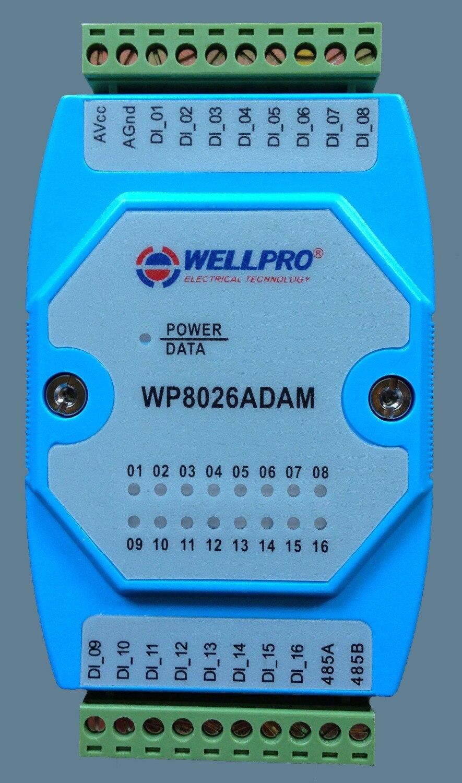 все цены на Digital quantity input module switch module and isolation 16-way DI RS485 MODBUS communication онлайн