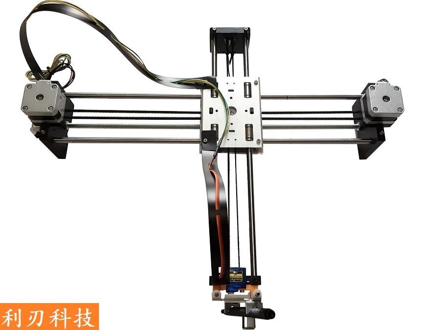 DrawBot writing size 320x220mm handwriting machine full kit Metal Version writing robot drawing robot