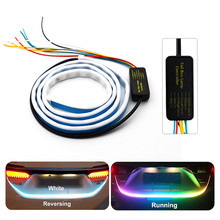 12V LED Strip Light For Car Trunk RGB 5050 120cm 60 LEDs IP68 Auto Styling Flowing
