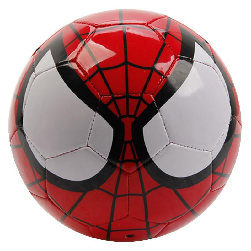 Disney Marvel Super Hero Spider Man PVC Official Soccer Ball Size 2 ,3, 4, 5 Toy Football Ball Best Christmas Gift Toy Balls